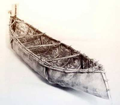 Elm Bark Canoes Were Often Roughly Made Disposable Boats