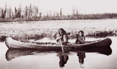 Early Travel By Canadas Aboriginal People