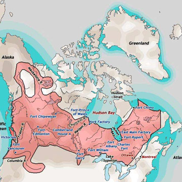 Map Of Canada 1870.The Metis A New Canadian Nation
