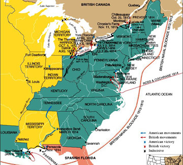 War of 1812 & After, Along the US/Canada Border