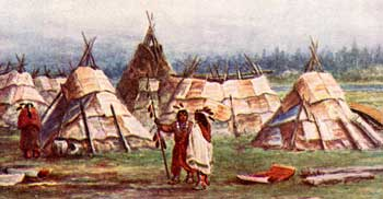 algonquians and iroquoians farmers of the