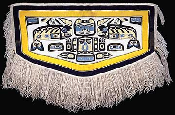 The chiefs Chilkat blanket