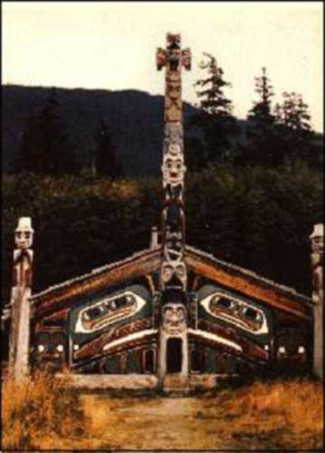 Native American Tribe Kwakiutl http://wiki.answers.com/Q/What_are_5_houses_of_Native_Americans
