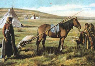 The Plains People - Transportation / Migration