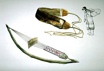 The Subarctic People Food Hunting Tools