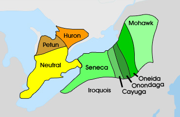 Eastern Woodland Indians Tribes Maps http://firstpeoplesofcanada.com/fp_groups/fp_wf1.html