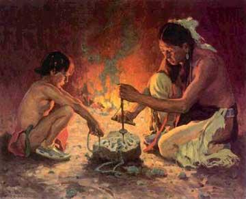 Native American Cherokee Indian Food