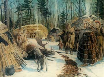 native americans from the paleo-indian period up to the woodland period essay The mississippian period began about  similar to those of the woodland period  some symbols found in mississippian art seem to show up in the oral traditions.