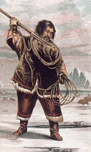 the arctic people food hunting tools